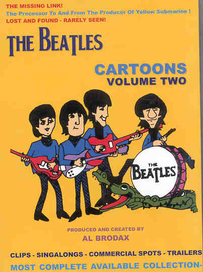 DVD The Beatles - Cartoons Collection Vol 2