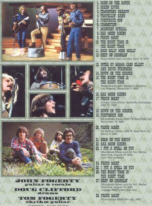 DVD Creedence Clearwater Revival - Bad Moon Rising