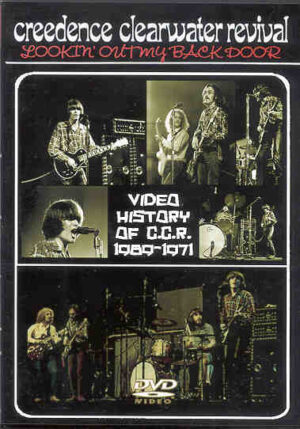 DVD Creedence Clearwater Revival - Looking Out My Backdoor