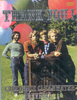 DVD Creedence Clearwater Revival - Thank You !