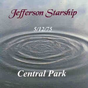 Jefferson Airplane - Central Park ( 2 CD!!!!! SET ) ( New York , December 5th , 1975 )