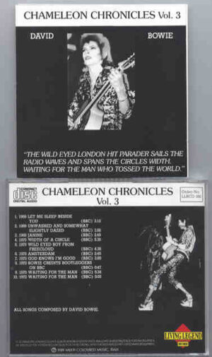 David Bowie - Chameleon Chronicles Vol.3  ( Living Legend )