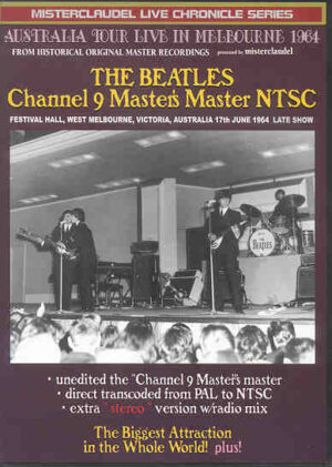 DVD The Beatles - Channel 9 Master's Master NTSC ( Misterclaudel )