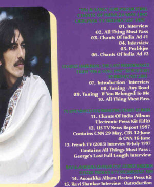 DVD George Harrison - Chants Of India And Other Rarities