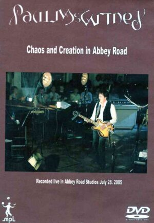 DVD Paul McCartney - Chaos And Creation In Abbey Road