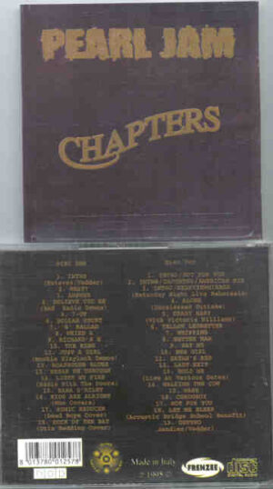 Pearl Jam - Chapters ( 2 CD!!!!! set )