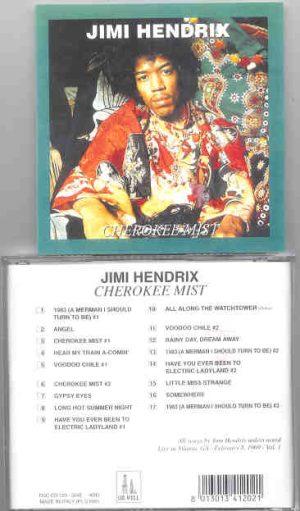 Jimi Hendrix - Cherokee Mist  ( Oil Well ) ( Atlanta , Georgia ,  Feb. 8th , 1969 - PART ONE )