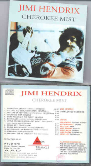 Jimi Hendrix - Cherokee Mist  ( Triangle Recs ) ( New York 1969 - 1970 )