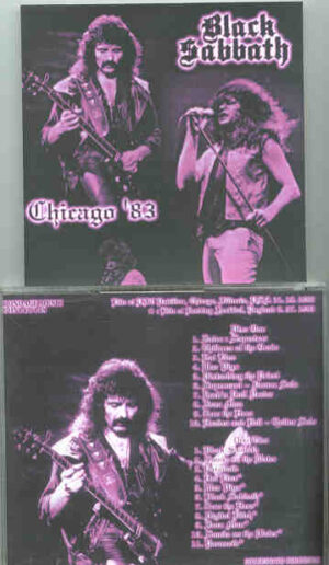 Black Sabbath - Chicago '83 ( 2 CD!!!!! set ) ( November 18th , 1983 )