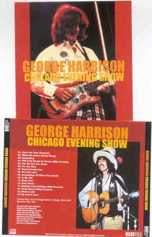 George Harrison - Chicago Evening Show ( Beatfile ) ( Evening Show , Chicago Stadium , Chicago , IL , USA , Nov 30th , 1974 )