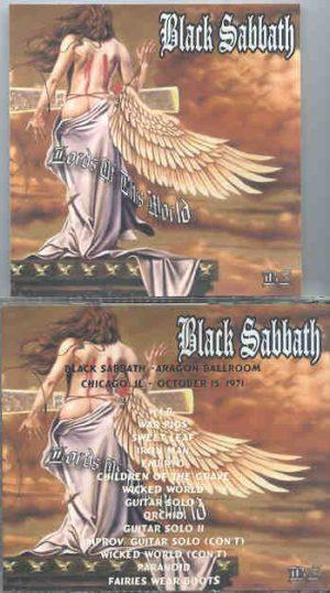 Black Sabbath - Chicago Illinois 1971 ( Aragon Ballroom , October 15th , 1971 )