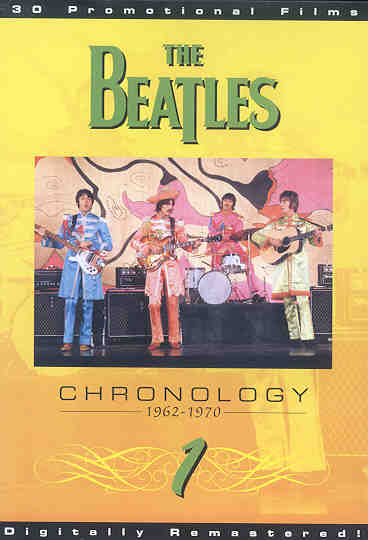 DVD The Beatles - Chronology Vol 1