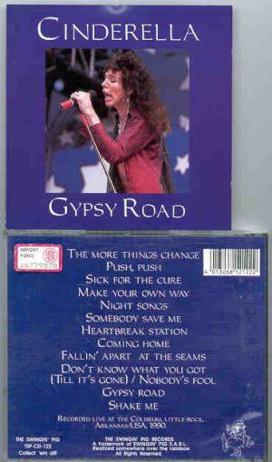Cinderella - Gypsy Rose  ( Swingin' Pig Recs )