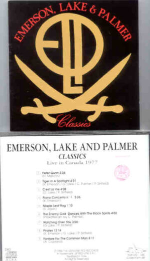 Emerson , Lake & Palmer - Classics ( Swingin' Pig ) ( Live In Canada 1977 )