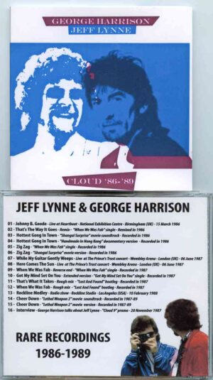 George Harrison - Cloud  86 - 89 ( Rare Recordings with Jeff Lynne 1986 to 1989 )
