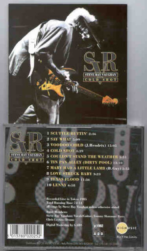 Stevie Ray Vaughan - Cold Shot ( Live in Tokyo , Japan , 1985 ) ( Big Music )