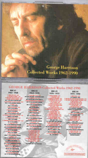George Harrison - Collected Works 1962 - 1990  ( 4 CD SET )