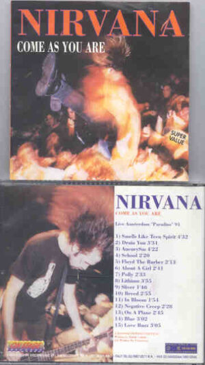 Nirvana - Come As You Are ( On Stage Recs ) ( Live in Amsterdam 1991 )