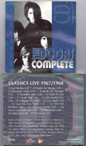 The Doors - Complete Vol. 1    ( Great Dane Recs )