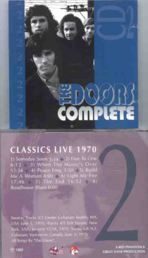 The Doors - Complete Vol. 3    ( Great Dane Recs )
