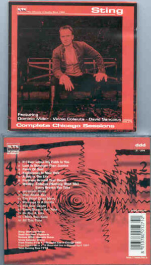 Sting / The Police - Complete Chicago Sessions ( KTS )