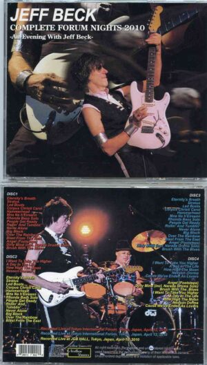 Jeff Beck - Complete Forum Nights 2010 ( 4 CD SET )( Tokyo International Forum & JCB Hall , Japan , April 10/12/13th 2010 )