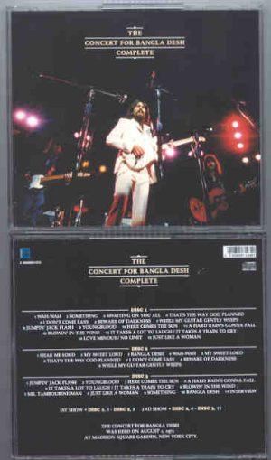 George Harrison - Complete Concert For Bangladesh ( 3 cd set )