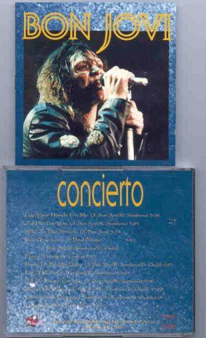 Bon Jovi - Concierto ( Great Dane ) ( Santiago , Chile , February 6th , 1990 )