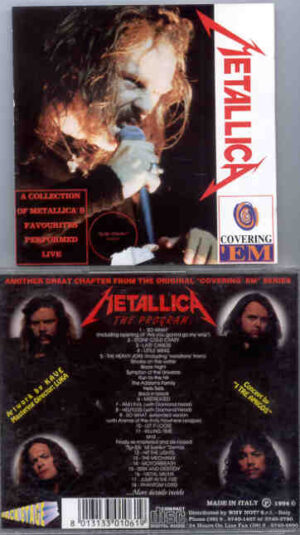 Metallica - Covering 'Em ( A Collection of Metallica's Favorites Performed Live )