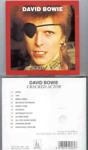 David Bowie - Cracked Actor ( Oil Well )