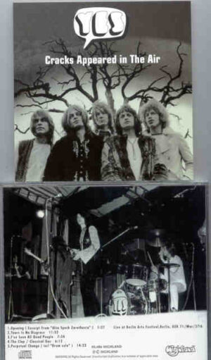Yes - Cracks Appeared In The Air ( Highland )( Berlin Arts Fest , Berlin , Germany , March 27th , 1971 )