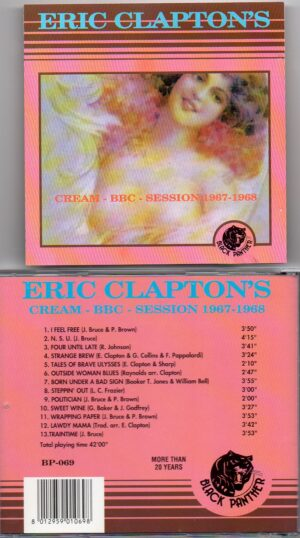 Jack Bruce - CREAM BBC Sessions 1967 - 1968 ( Black Panther )