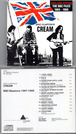 Jack Bruce - CREAM BBC Sessions 1967 - 1968 ( Pyramid )