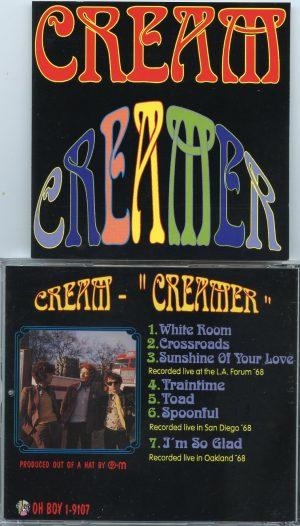 Jack Bruce - Creamer ( Cream Live at LA Forum 1968 & Oakland Park 1968 ) ( Oh Boy Recs )