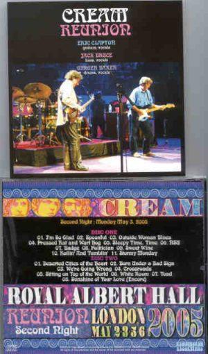 Jack Bruce - CREAM Reunion 2005 Second Night ( 2 CD!!!!! set )