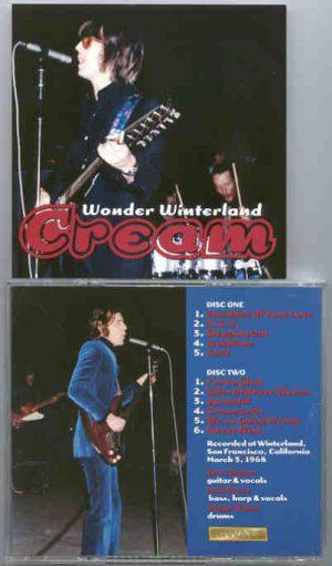 Cream - Wonder Winterland ( 2 CD!!!!! set )( CREAM at Winterland , San Francisco , March 3rd , 1968 )