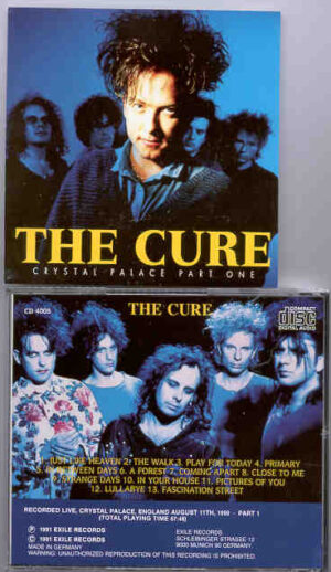 The Cure - Crystal Palace Part One ( Crystal Palace , England , August 11th , 1990 )