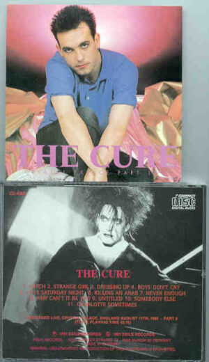 The Cure - Crystal Palace Part Two ( Crystal Palace , England , August 11th , 1990 )