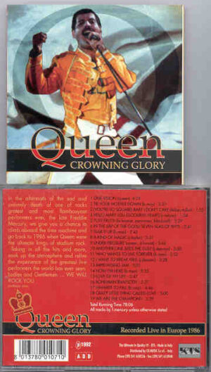 Queen - Crowning Glory ( Live in Europe 1986 ) ( KTS )