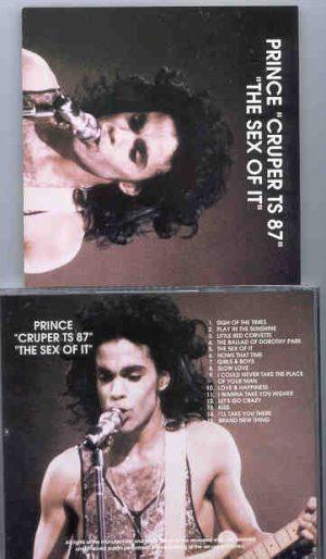 Prince - Cruper TS '87 ( The Sex Of It )
