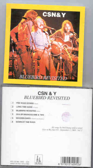 Neil Young / CSNY - Bluebird Revisited ( Crosby Stills Nash & Young ) ( Oil Well ) ( Big Sur , CA , Sept 1st , 1969 )