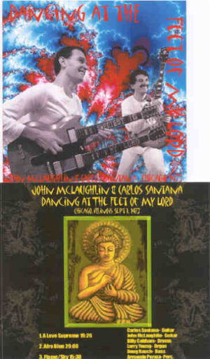 Santana - Dancing At The Feet Of My Lord Part 2 ( Live With John McLaughlin , Chicago , Sep 1st , 1973 )