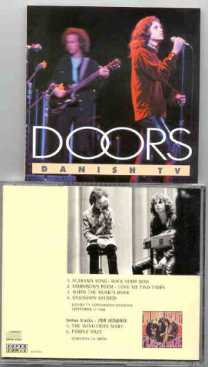 The Doors - Danish TV ( Copenhagen , Denmark , September 17th , 1968 )