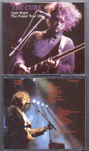 The Cure - Dark Night , The Prayer Tour '89 ( 2 CD!!!!! SET )
