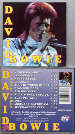 David Bowie - David Bowie LIVE !  ( DV More Record )