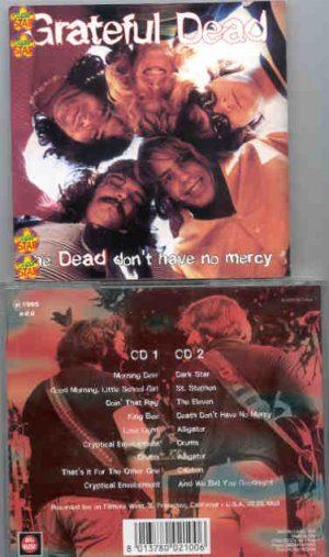 Grateful Dead - Dead Don't Have No Mercy ( 2 CD!!!!! SET ) ( Big Music ) ( California , USA , Feb 26th , 1969 )
