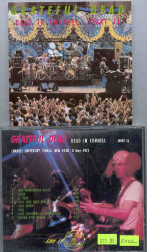 Grateful Dead - Dead In Cornell ( Part One ) ( Silver Rarities ) ( New York , May 8th , 1977 )