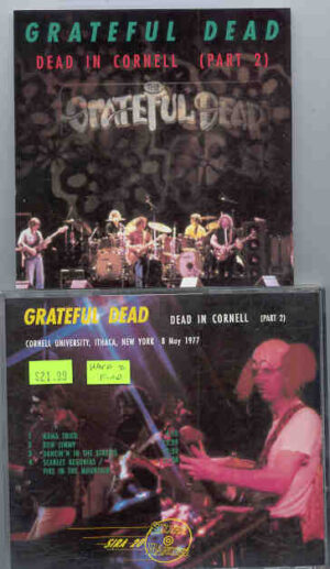 Grateful Dead - Dead In Cornell ( Part Two ) ( Silver Rarities ) ( New York , May 8th , 1977 )