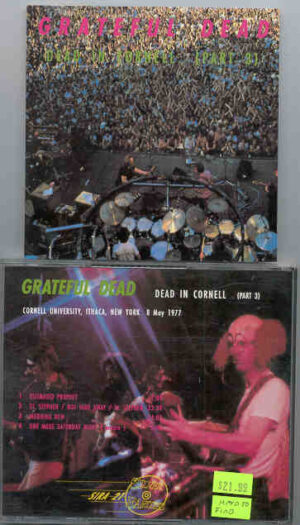 Grateful Dead - Dead In Cornell ( Part Three ) ( Silver Rarities ) ( New York , May 8th , 1977 )