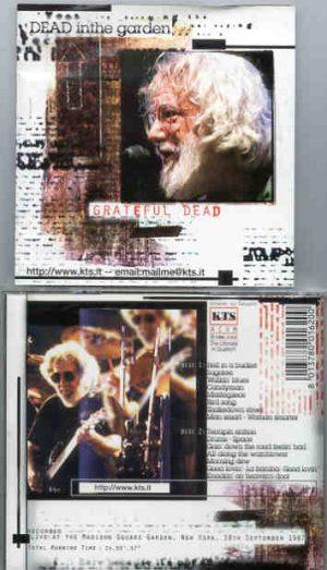 Grateful Dead - Dead In The Garden ( 2 CD!!!!! set ) ( KTS ) ( MSG , New York , NY , USA , September 18th , 1987 )